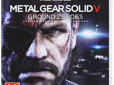 metal gear solid v: ground zeroes ps3
