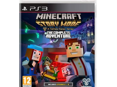 minecraft story mode-the complete adventure ps3