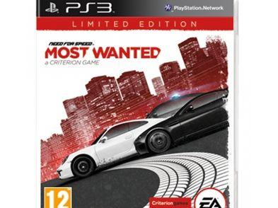 need for speed most wanted edicion limitada ps3
