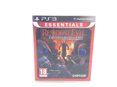 resident evil operation raccoon city essentials ps3