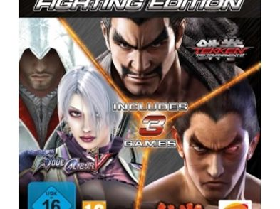 tekken 6 + tekken tag tournament 2 + soul calibur v ps3