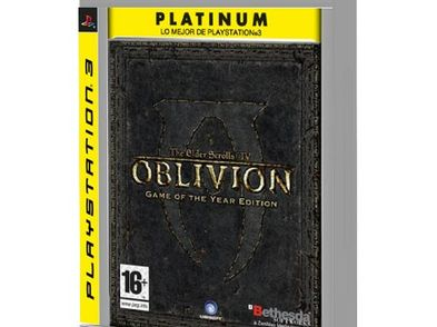 the elder scrolls iv oblivion goty platinum ps3
