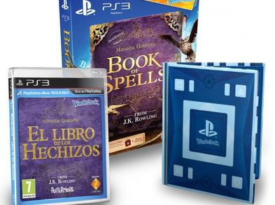 wonderbook libro de hechizos ps3
