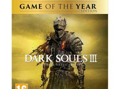 dark souls iii the fire fades edition - goty ps4