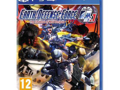 earth defense force 4.1 shadow of new despair ps4