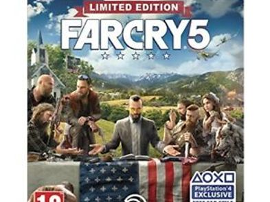 far cry 5 limited edition ps4