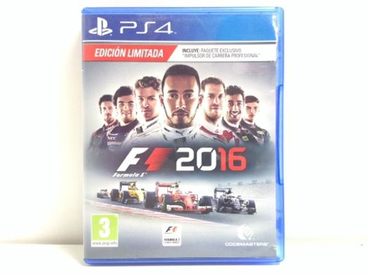 formula 1 2016 edicion limitada ps4
