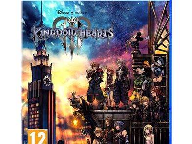 kingdom hearts iii ps4