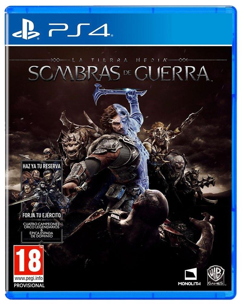Juego Ps4 La Tierra Media Sombras De Guerra Ps4 4125100 Ebay