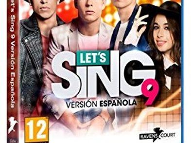 lets sing 9 version espanola ps4