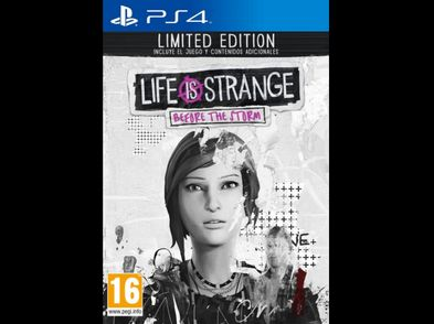 life is strange before the storm lim. edit. ps4