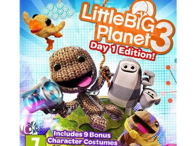 little big planet 3 day one edition ps4