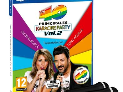 los 40 principales: karaoke party vol 2 ps4