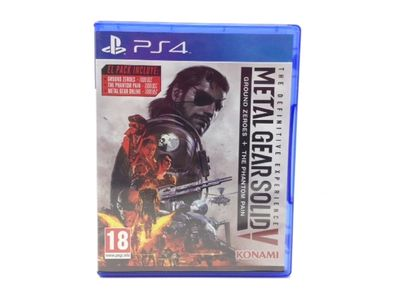 metal gear solid v: the definitive edition ps4