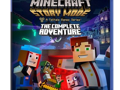 minecraft: story mode the complete adventure ps4
