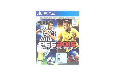 pro evolution soccer 2016 ps4