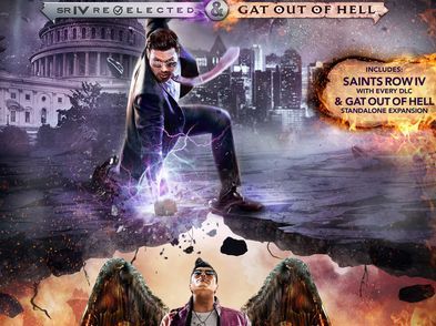 saints row iv re-elected + gat out of hell ps4