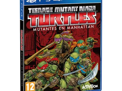 teenage mutant ninja turtles: mutantes en manhattan ps4