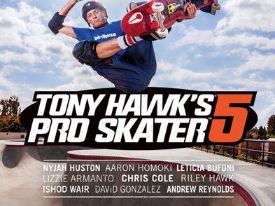 tony hawks pro staker 5 ps4