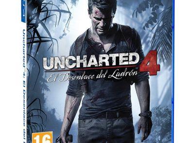 uncharted 4: el desenlace del ladron ps4