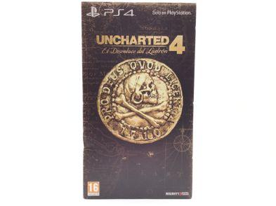 uncharted 4 el desenlace del ladron edicion coleccionista