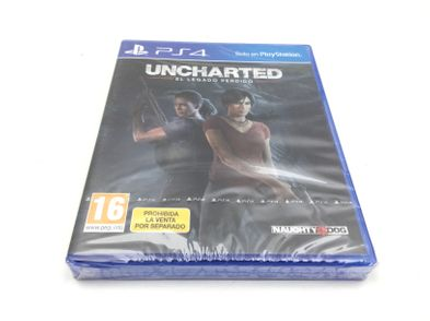 uncharted o legado perdido ps4