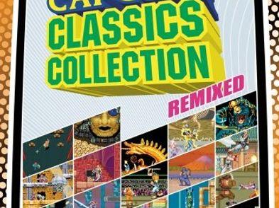 capcom classics collection remixed essentials psp