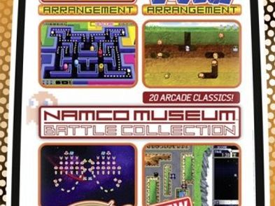 namco museum battle collection essentials psp