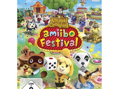animal crossing: amiibo festival (incluye 1 figura amiibo +