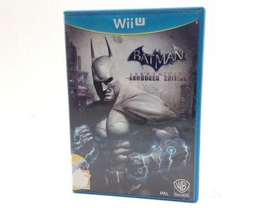 batman arkham city: armored ed wii u