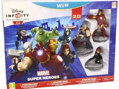 disney infinity 2.0: marvel super heroes starter pack wiiu
