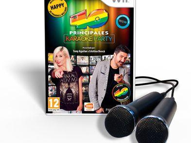 40 principales karaoke party wii