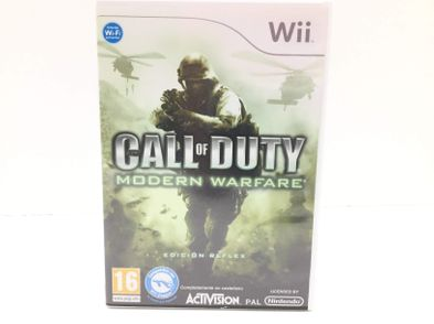 call of duty modern warfare wii