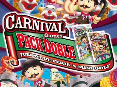 carnival juegos de feria + carnival minigolf wii