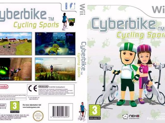cyberbike cycling sport wii