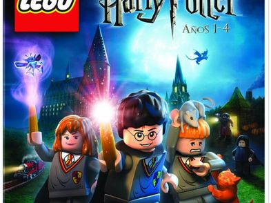 lego harry potter - anos 1-4 wii