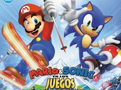 Mario Sonic En Los Juegos De Invierno Wii Segunda Mano 89 De