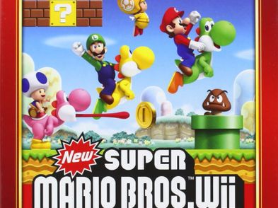 new super mario bros selects wii