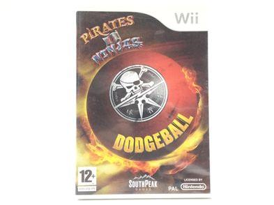 pirates vs ninjas dodgeball wii