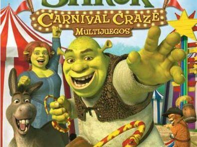 shrek carnival games multijuegos wii