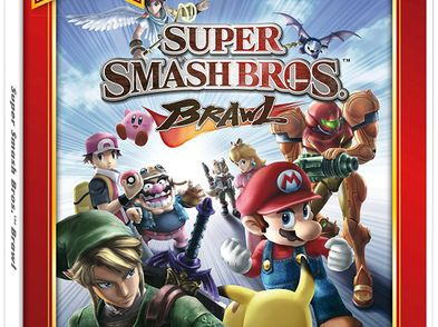 super smash bros. brawl selects wii