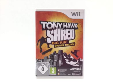 tony hawk shred wii version reino unido