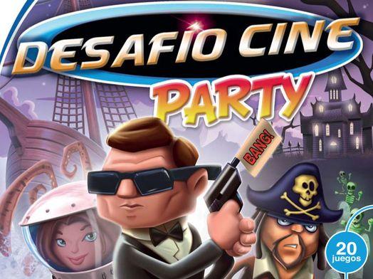 zona de juego desafio cine party wii