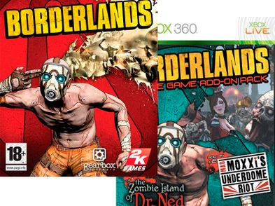 borderlands goty x360 version reino unido