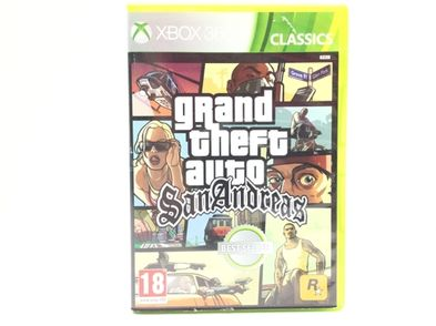 grand theft auto san andreas classics x360