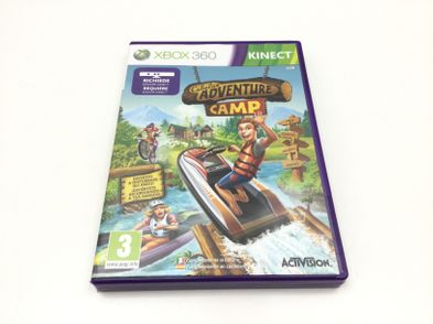 kinect cabelas camp adventures x360