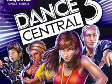kinect dance central 3 x360