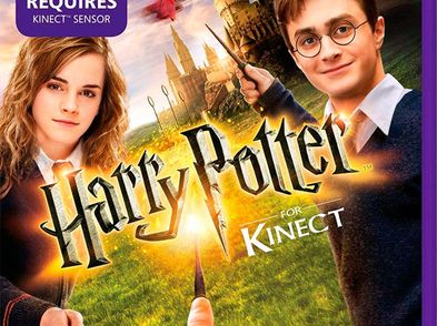 kinect harry potter x360
