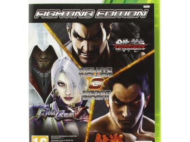 tekken 6 + tekken tag tournament 2 + soulcalibur v x360