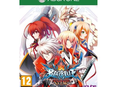 blazblue chrono phantasma extend xboxone